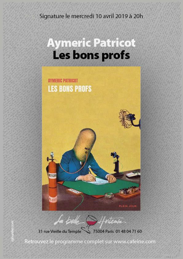 Aymeric Patricot : La littérature sous caféine